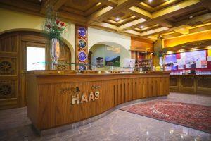 recepcia Hotel Haas
